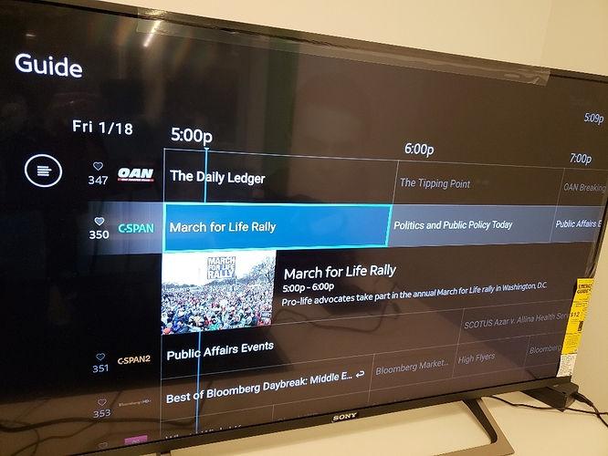 Direct TV UI 2
