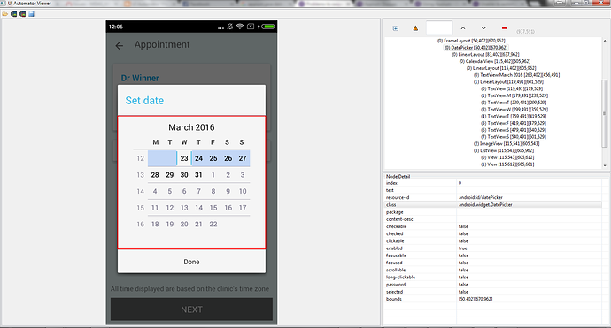 Having problem on date picker in android - Support - Appium Discuss