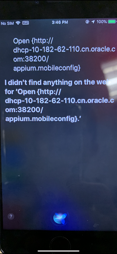 Appium install ios self signed app issues(trust certificate, new