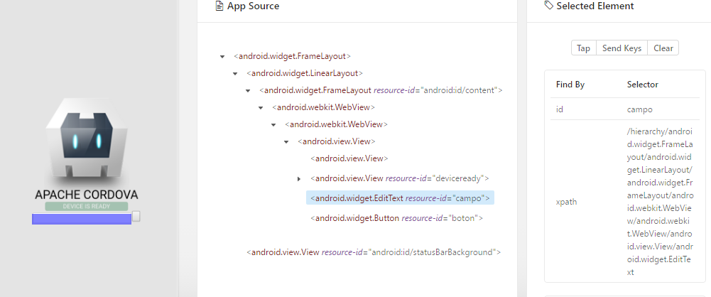 Newbie--> appium inspector with android hybrid autoWebview=true
