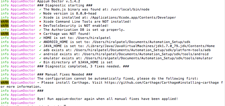 Xcode command lIne tools are not installed - Support