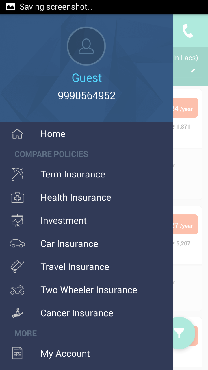 How to open Menu Drawer navigation in Android Native app - Support